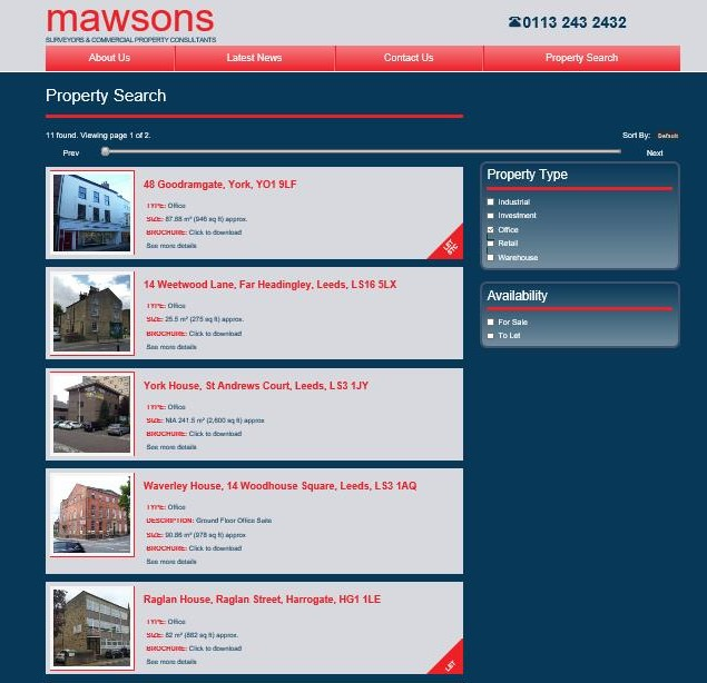 Mawsons Website Property Search (2)